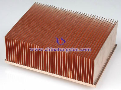 tungsten copper heat seat